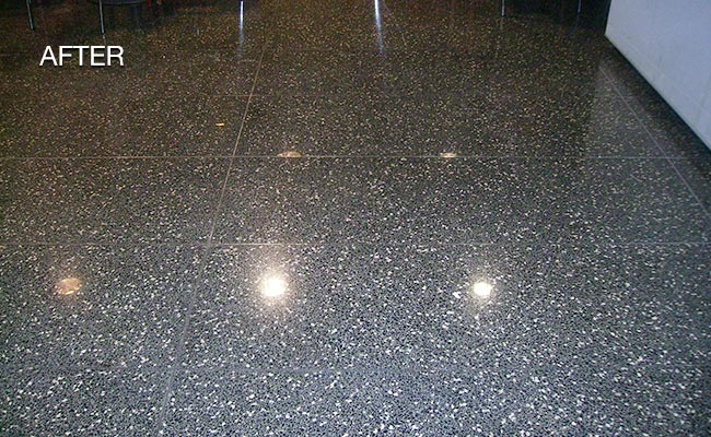 New York City Polished Terrazzo