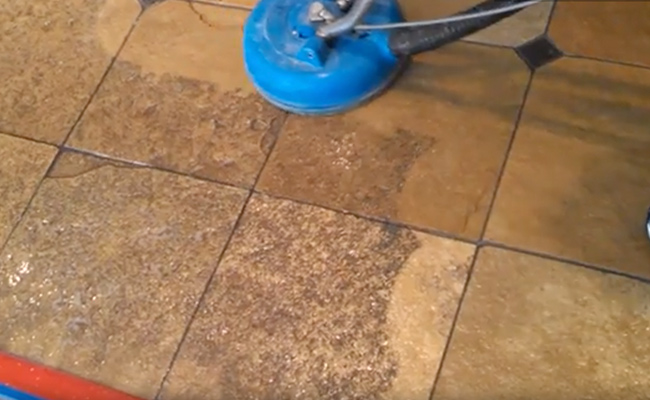Deep Cleaning Tile and Grout