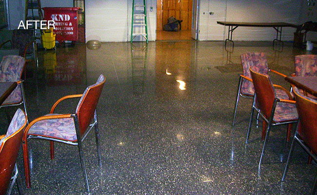 Terrazzo Floor Refinishing New York City Rockland Stone