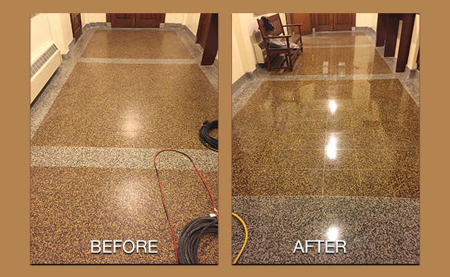 Terrazzo Floor Restoration Ventnor City Nj Rockland
